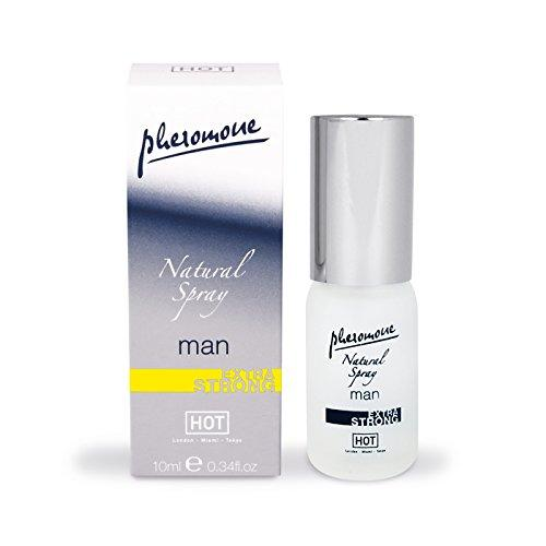 HOT Man Pheromone  Natural Spray extra strong 10 ml - feromóny