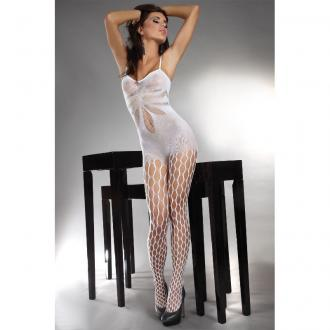 ARTEMIDA CATSUIT FULL WHITE LIVCO S/L - bodystockings