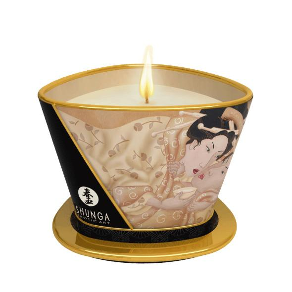 Shunga - Massage Candle Vanilla Fetish 170 ml - masážna sviečka